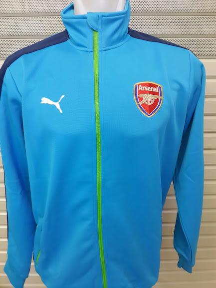 Jual Jaket Arsenal Light Blue 2014-2015