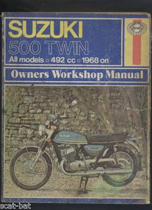Suzuki T500 Repair Manual