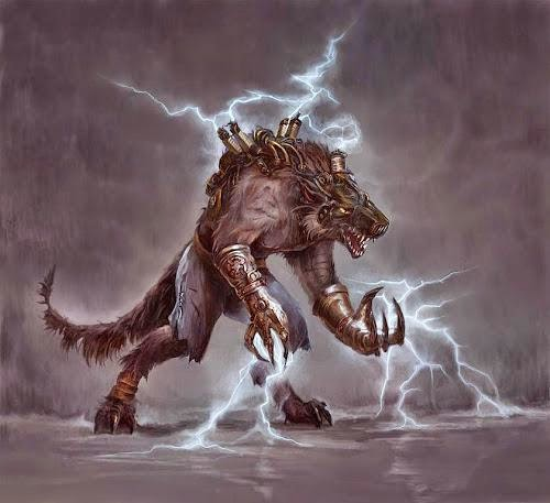 Frightful Fridays Blitzwolf Creature