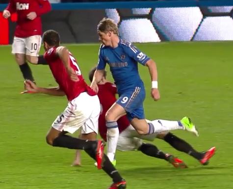 Fernando Torres, Chelsea - Manchester United
