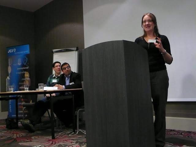 Debating at the National Awards Weekend 2009