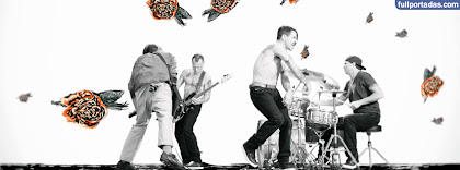 Portada para facebook de Monarchy of roses red hot chili peppers