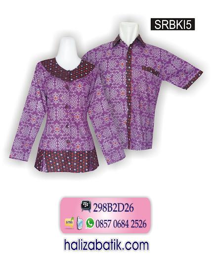 sarimbit batik, model baju batik muslim, gambar batik modern
