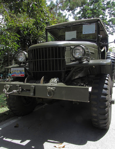 Vintage jeep in El Hatillo, Caracas