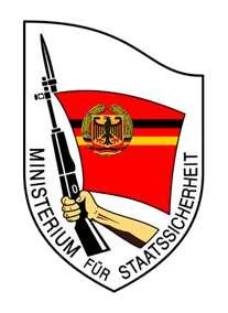MfS Ministerium für Staatssicherheit
