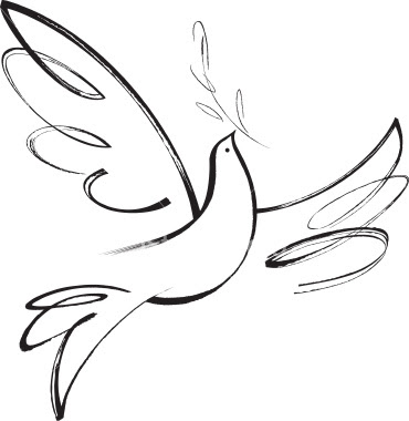 a dove tattoo