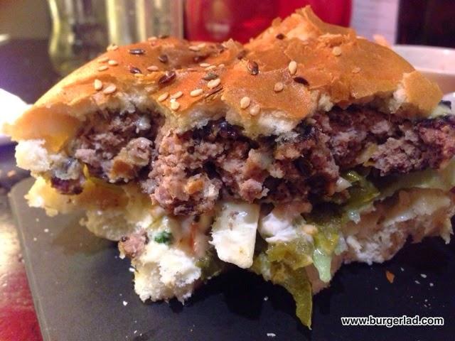 Miller and Carter Steakhouse Prime Beef Burger