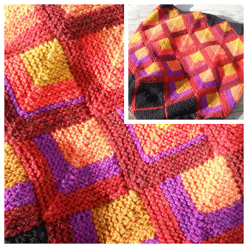 Stitch Knitted Squares Together : Woolfully Speaking: The Miracle of Garter Stitch