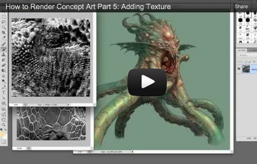 Tutorial Video: How to Render Concept Art - Part 5