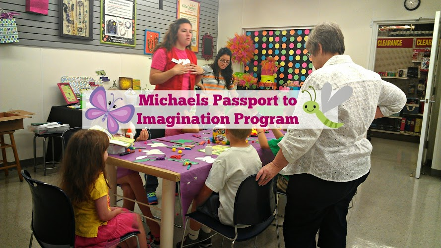 Butterfly Crafts at the Michaels Passport to Imagination Program