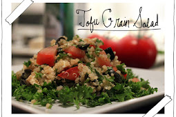 Tofu Grain Salad