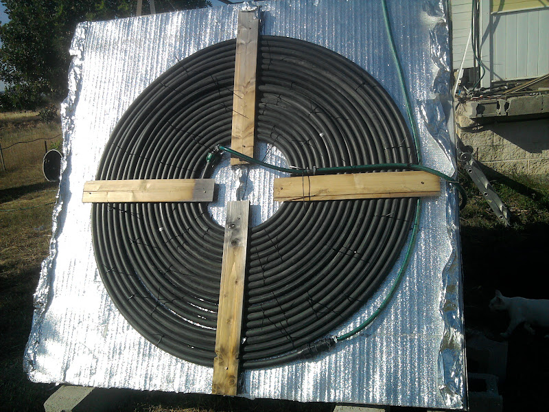 Pannello Solare Con Tubo Polietilene : Pannello solare a girella fai da te offgrid