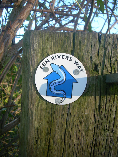 Fen Rivers Way marker