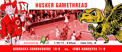 Husker Gamethread Nebraska Vs Iowa Corn Nation
