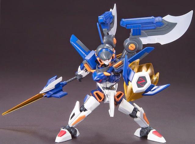 Đấu sĩ LBX Ikaros Zero với vũ khí