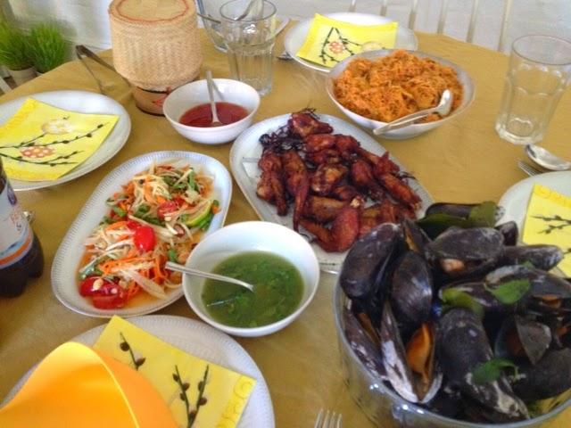 Lunch at Daru