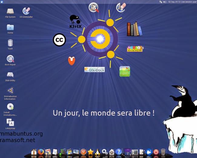 Emmabuntüs, una distribución que revive esos PCs que están listos para chatarra.
