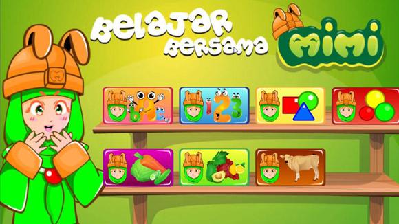 Game anak pomibo - bermain bersama mimi