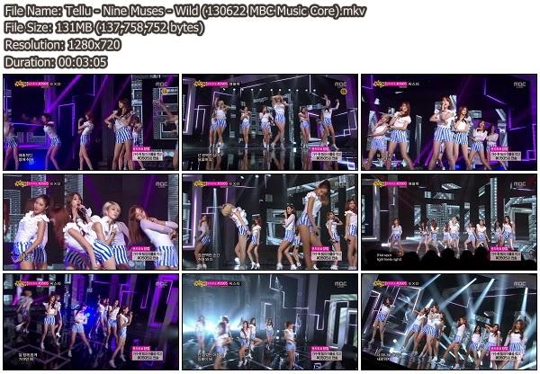 Muses Wild Nine Muses Wild 130622 Mbc