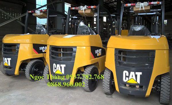 Xe nâng CAT 5 tấn