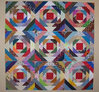 Pursuit of Quilts: Pineapple Blocks using Gyleen Fitzgerald's ruler : pineapple quilt - Adamdwight.com