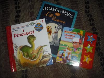 Libri per bambini sui dinosauri