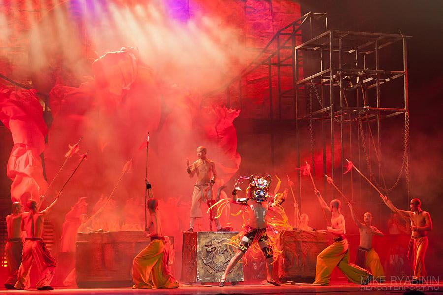 Красный Театр. Китай. Фото.