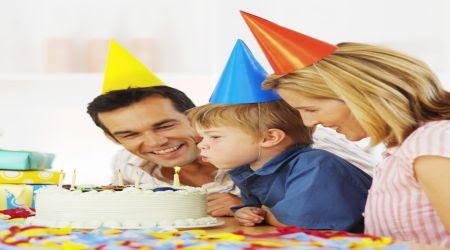 Convivencia y festejo cumpleaños con familiares