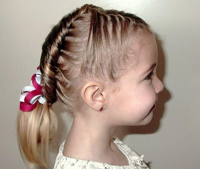 Peinados Sencillos Para Nina De Fiesta