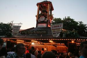Festliche Beleuchtung beim Altstadtfest.
