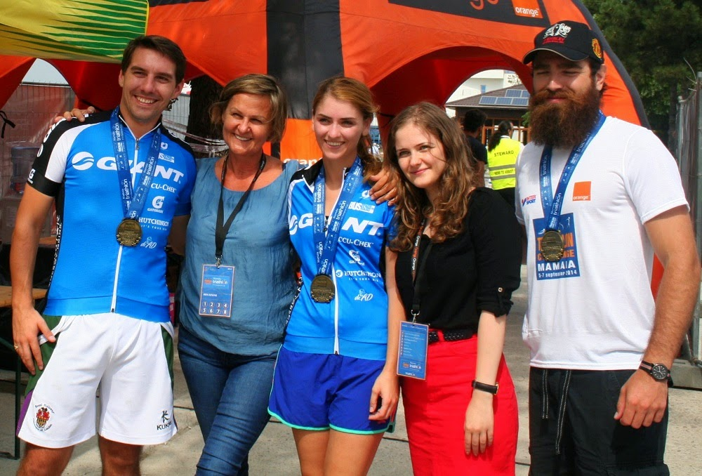 Principele Nicolae a participat la Triathlon Challenge Mamaia