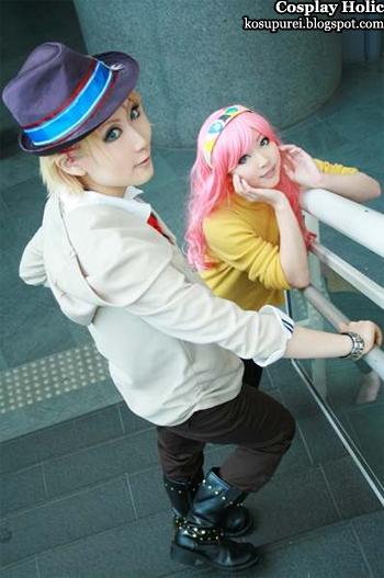 uta no prince-sama / utapri cosplay - kurusu syo and tsukimiya ringo