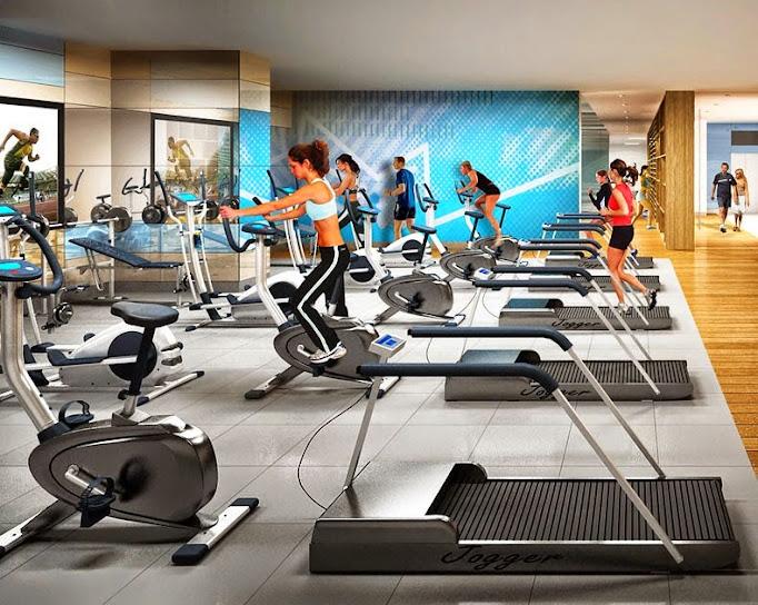 Phòng tập Gym Căn hộ Tân Phước