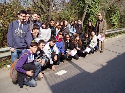Participants de l'Institut Olorda al Cangur 2012