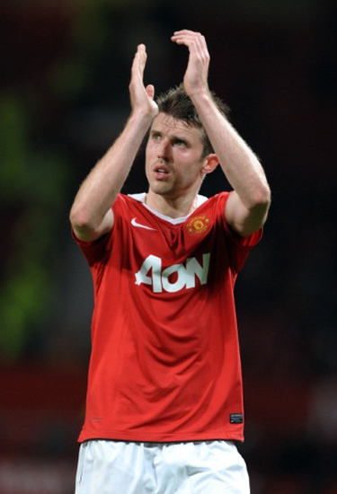 Michael Carrick Midfielder Manchester United