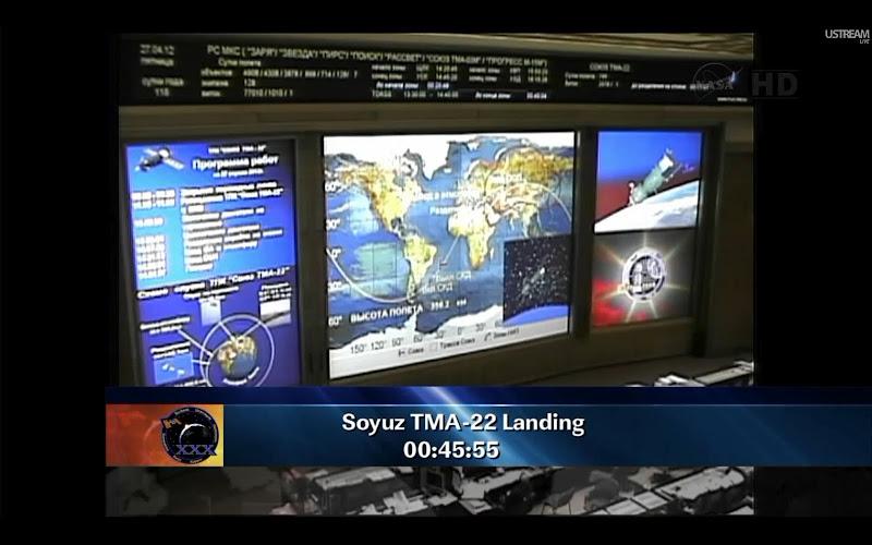 Retour de Soyouz TMA-22 le 27 avril 2012 Tma224