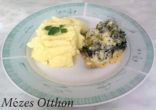 sajtos brokkolis csirkemell fotó