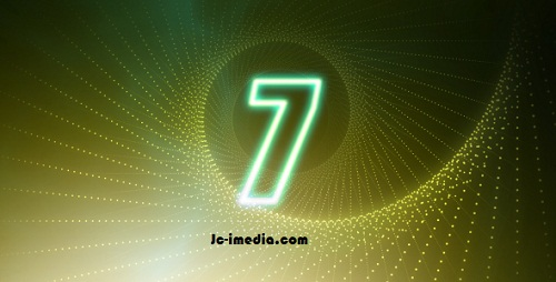 Countdown Glow Number