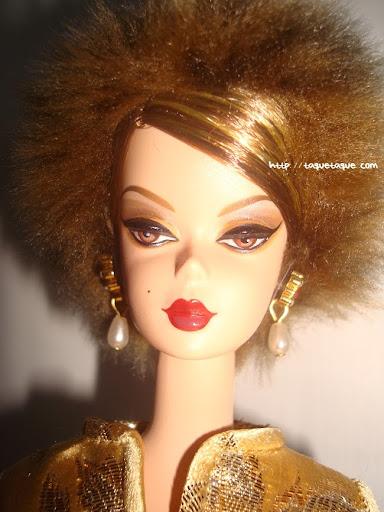Barbie Silkstone Je ne sais quoi: primer plano de la cara