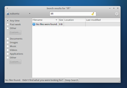 Xubuntu 12.10 Quantal - catfish