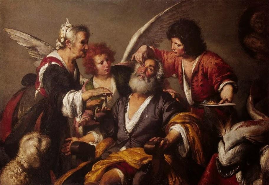 Bernardo Strozzi - The Healing of Tobit