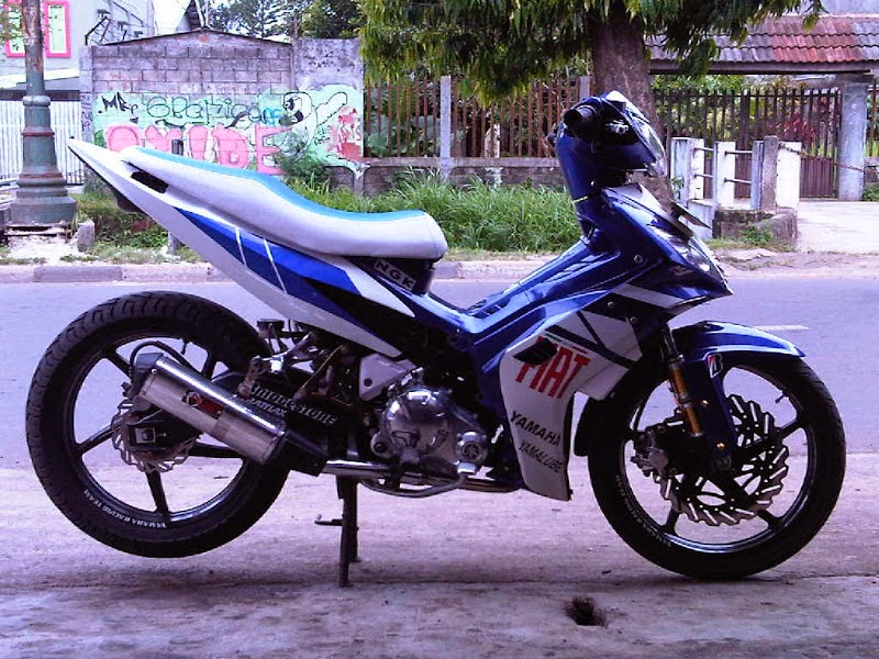 Modifikasi Mesin Jupiter Mx Harian