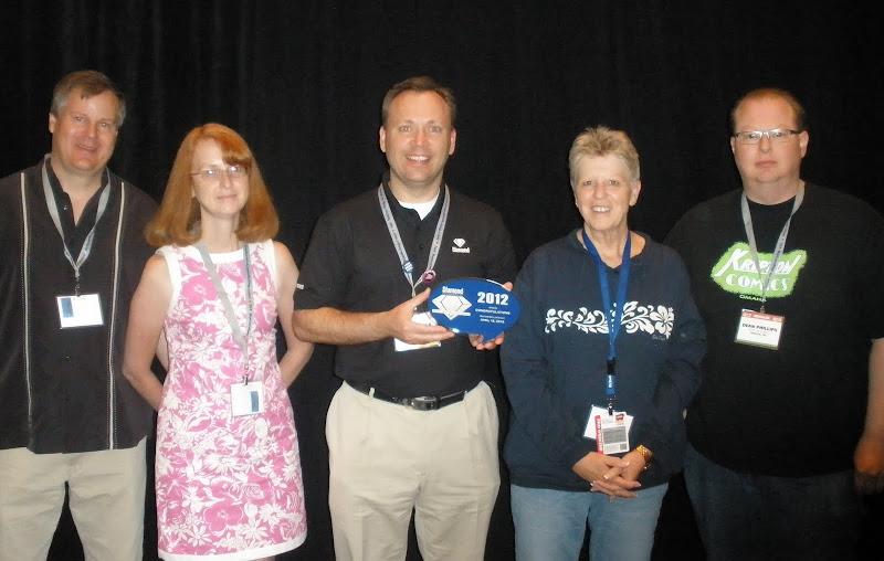 Diamond Director of Marketing Dan Manser (middle) with BPA Winners in Attendance