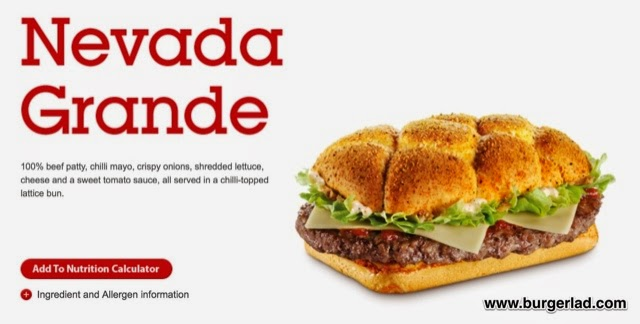 McDonald's Nevada Grande Burger