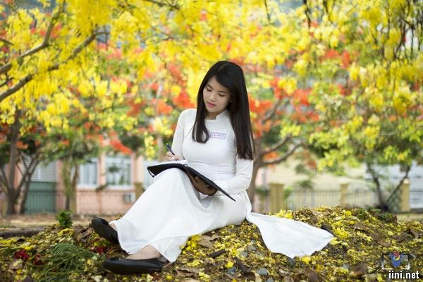 Thơ áo trắng học trò hay, chùm thơ ngắn tuổi hồng tôi yêu và nhớ mãi