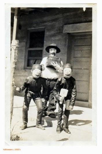 Crianças fantasiadas para o Halloween
