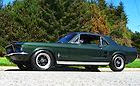 1967 FORD MUSTANG BULLITT COUPE V8 A CODE IN CALIFORNIA