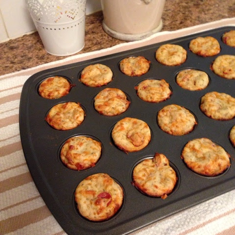 pepperoni pizza mini muffins