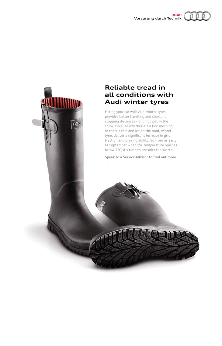 Winter Tyres by Audi