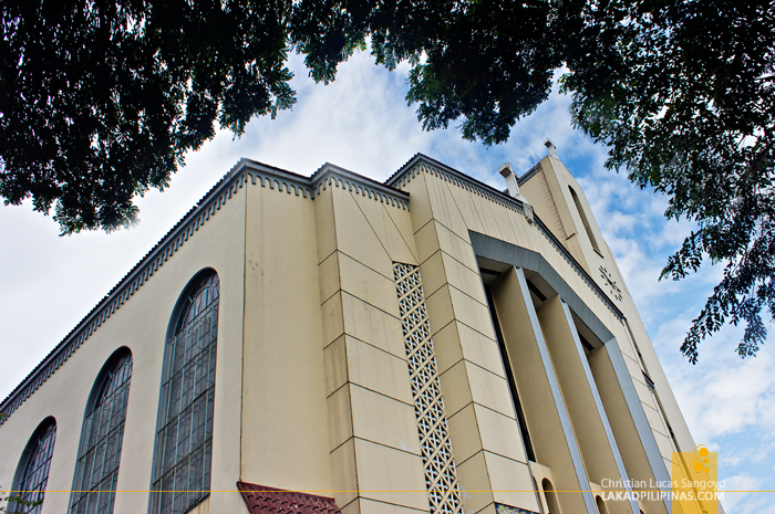 The Modern Facade of Sto. Domingo Church in Quezon City